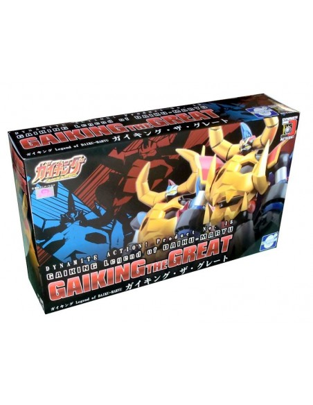 EVOLUTION TOYS DYNAMITE ACTION 15 GAIKING THE GREAT FIGURE