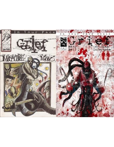 Grief Super Pack N° 1,2 + Litografia Moz Officina Infernale