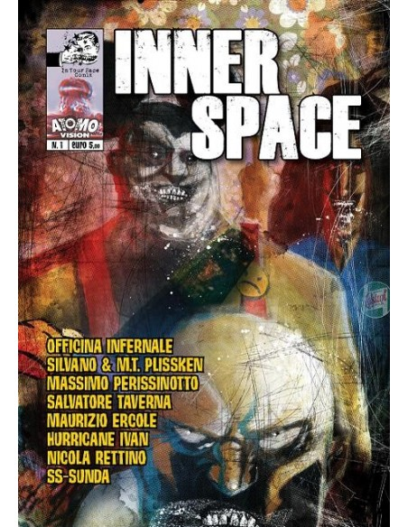 Inner Space N 1 Officina Infernale, Maurizio Ercole, SS Sunda