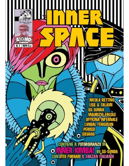 Inner Space N 3 Maurizio Ercole, SS Sunda, Silvano