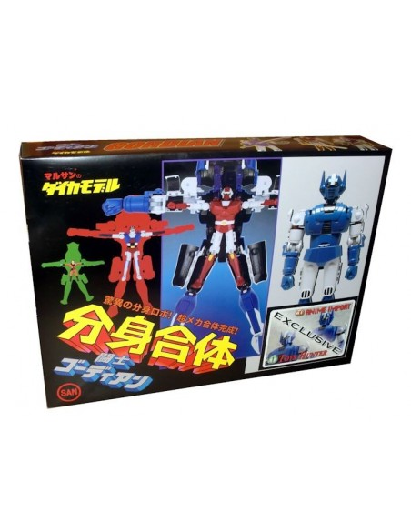 CHOGOKIN BRAVE 30 GORDIAN NORMAL EXCLUSIVE DIE CAST ACTION FIGURE