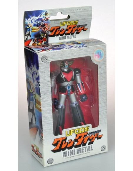 HIGH DREAM GRENDIZER UFO ROBOT GOLDRAKE MINI METAL 12CM DIE CAST