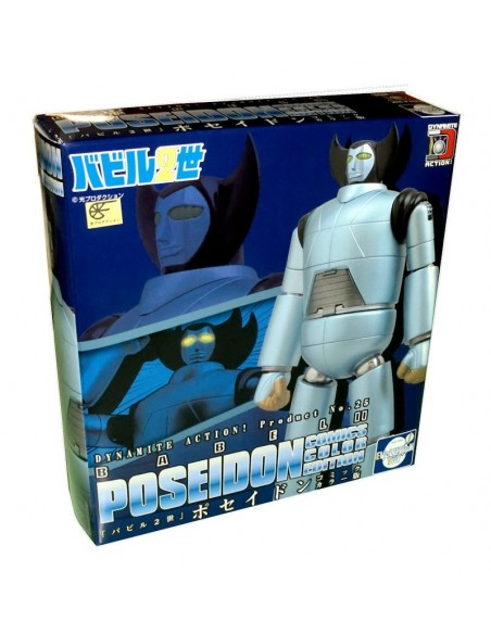 DYNAMITE ACTION 25 BABIL JUNIOR POSEIDON FIGURE