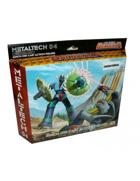 GRENDIZER METALTECH 04 GOLDRAKE GIN GIN LIMITED EDITION DIE CAST