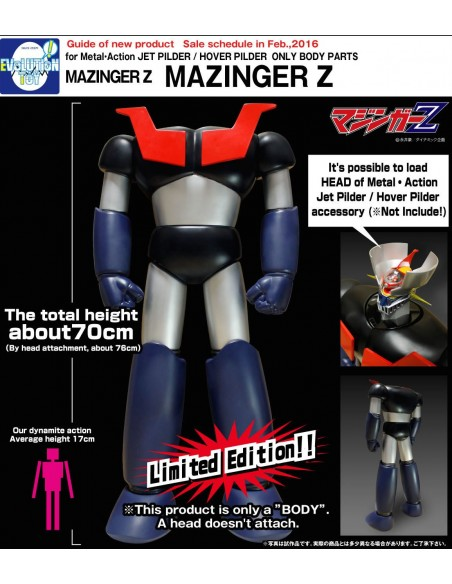 METAL ACTION 03 SPECIAL PARTS MAZINGA Z BODY FIGURE
