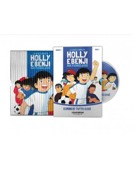 YAMATO DVD ANIME HOLLY & BENJI SERIE TV 27 DVD SERIE COMPLETA