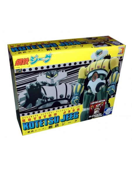 DYNAMITE ACTION 20 JEEG ROBOT D'ACCIAIO BLACK VERSION