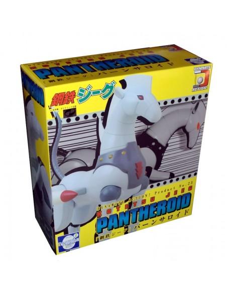 DYNAMITE ACTION 23 JEEG ROBOT D'ACCIAIO PANTHEROID CAVALLO