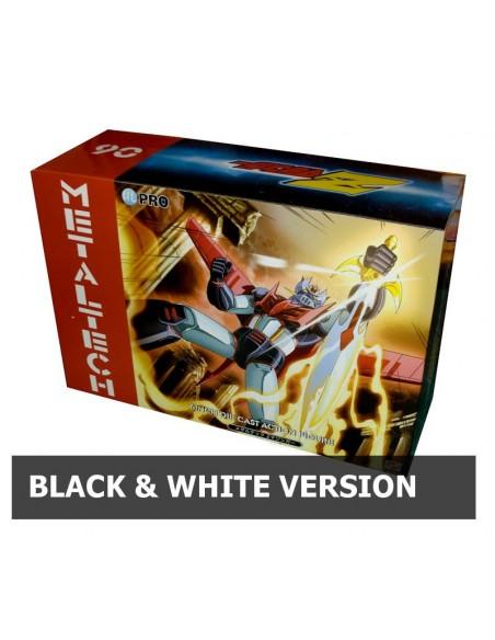 HL PRO MAZINGER METALTECH 06 Z MAZINGA BLACK & WHITE ED. DIE CAST