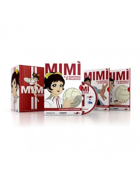 YAMATO DVD ANIME MIMI E LA NAZIONALE PALLAVOLO 16 DVD SERIE COMPLETA