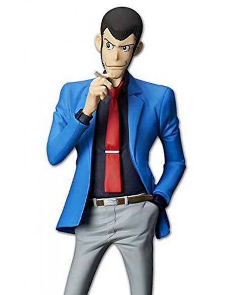 BANPRESTO LUPIN THE 3RD MASTER STARS PIECE LUPIN PVC FIGURE