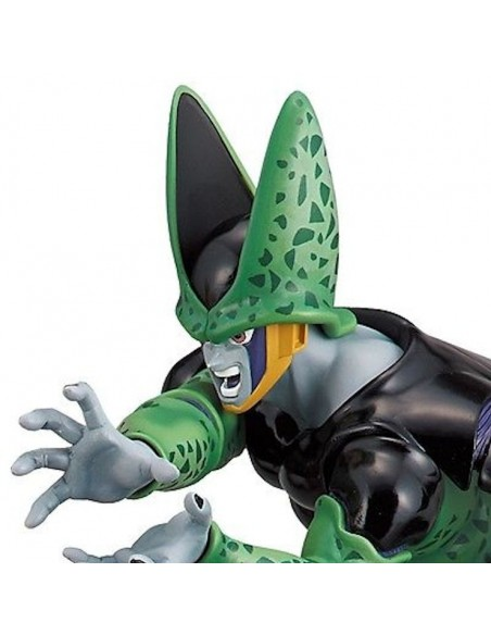 BANPRESTO DRAGONBALL Z DRAMATIC SHOWCASE VOL. 01 CELL PVC FIGURE