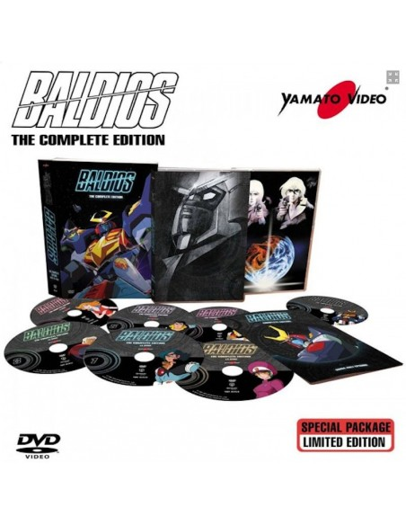 YAMATO VIDEO DVD ANIME BALDIOS THE COMPLETE EDITION DVD SERIE COMPLETA