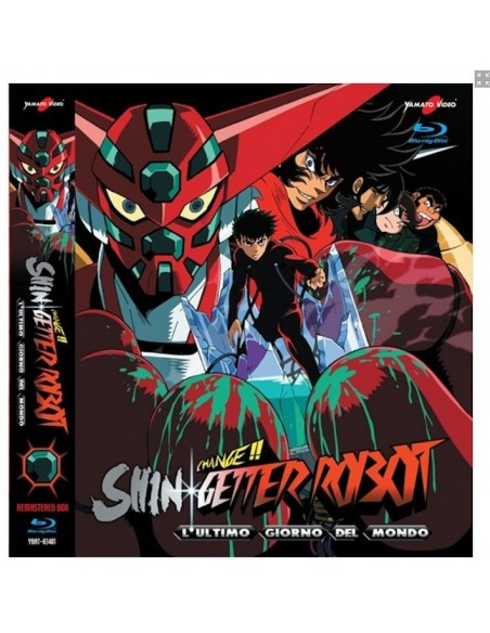 YAMATO VIDEO BLU RAY ANIME SHIN GETTER ROBOT LAST DAY 3 DISCHI SERIE COMPLETA