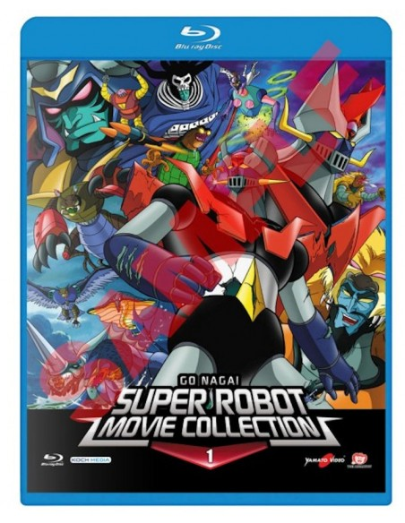 YAMATO VIDEO BLU RAY ANIME GO NAGAI SUPER ROBOT MOVIE COLLECTION  1
