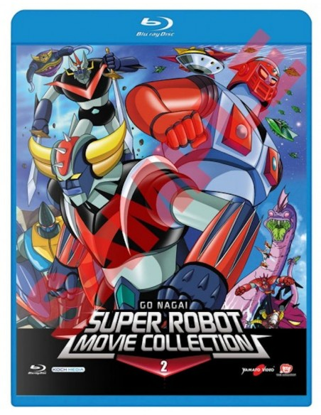 YAMATO VIDEO BLU RAY ANIME GO NAGAI SUPER ROBOT MOVIE COLLECTION  2