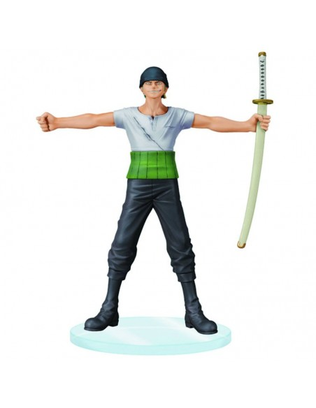 BANPRESTO ONE PIECE DRAMATIC SHOWCASE 1 RORONOA ZORO PVC FIGURE