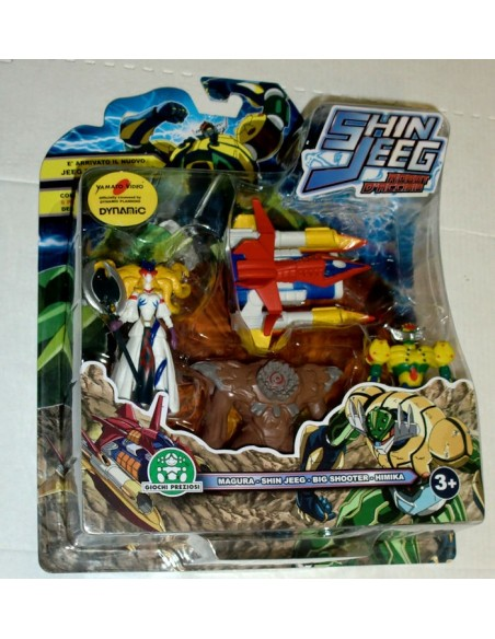 GIOCHI PREZIOSI SHIN JEEG 4 PACK MINI FIGURE SET 05 7CM NEW