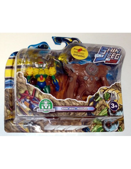 GIOCHI PREZIOSI SHIN JEEG 2 PACK MINI FIGURE SET 01 7CM NEW