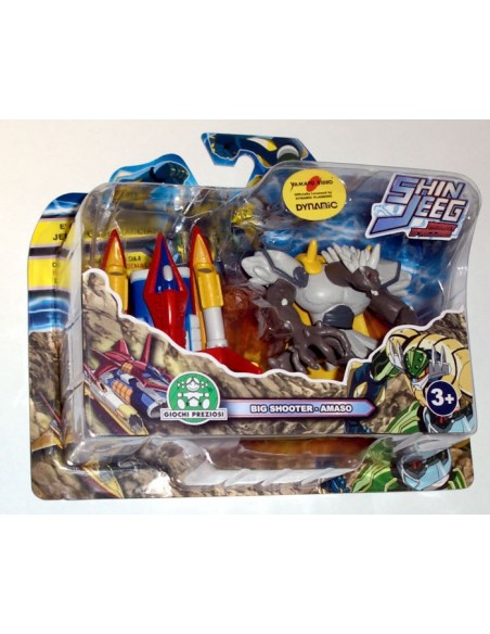 GIOCHI PREZIOSI SHIN JEEG 2 PACK MINI FIGURE SET 02 7CM NEW