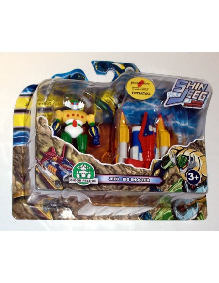 GIOCHI PREZIOSI SHIN JEEG 2 PACK MINI FIGURE SET 03 7CM NEW