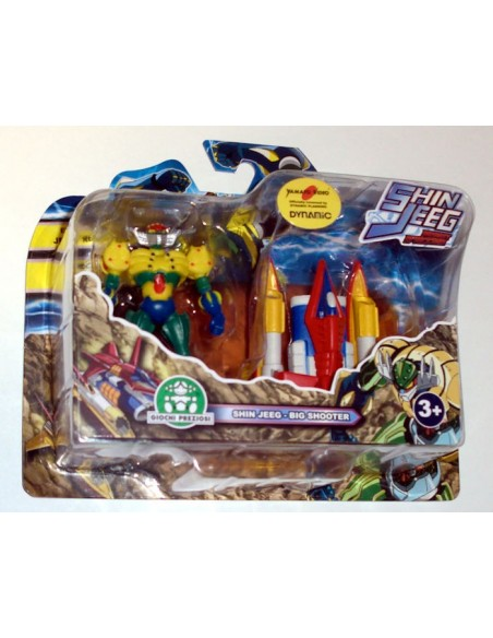 GIOCHI PREZIOSI SHIN JEEG 2 PACK MINI FIGURE SET 04 7CM NEW