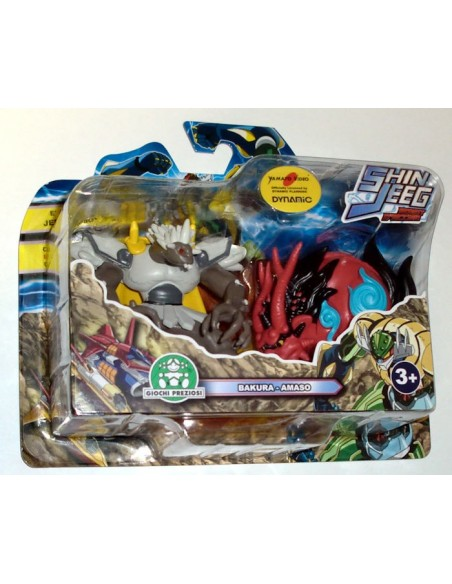 GIOCHI PREZIOSI SHIN JEEG 2 PACK MINI FIGURE SET 06 7CM NEW
