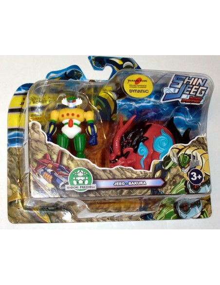 GIOCHI PREZIOSI SHIN JEEG 2 PACK MINI FIGURE SET 07 7CM NEW