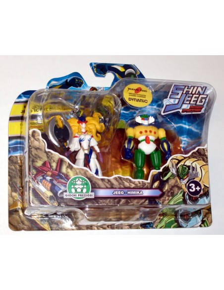 GIOCHI PREZIOSI SHIN JEEG 2 PACK MINI FIGURE SET 09 7CM NEW