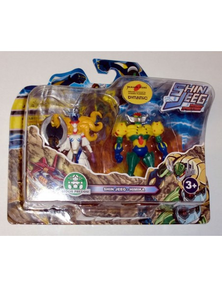 GIOCHI PREZIOSI SHIN JEEG 2 PACK MINI FIGURE SET 10 7CM NEW