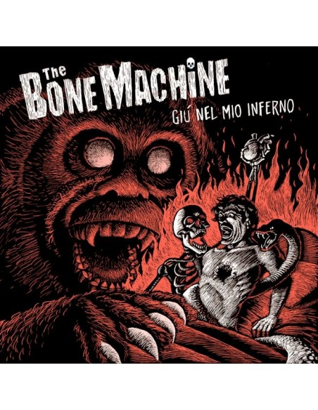 The Bone Machine Cd Giù Nel Mio Inferno Billy's Bones Records