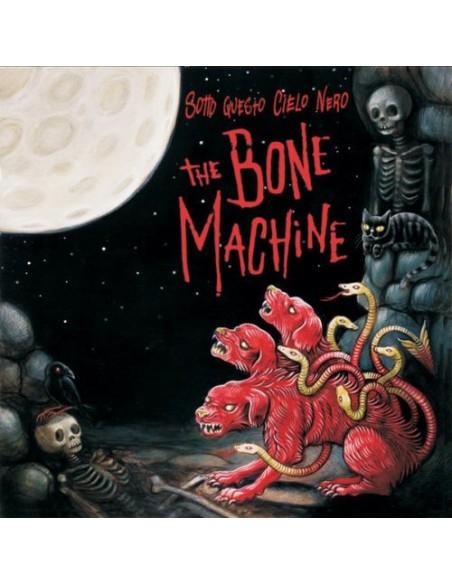 The Bone Machine Cd Sotto Questo Cielo Nero Billy's Bones Records Rock'n'Roll