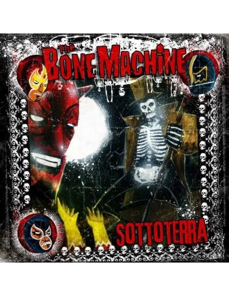 The Bone Machine Cd Sottoterra Billy's Bones Records Rock'n'Roll