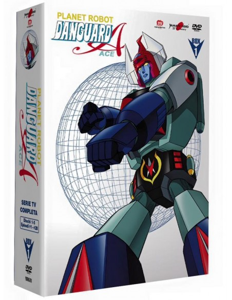 YAMATO VIDEO DVD ANIME DANGUARD ACE DELUXE 5 DVD BOX VOL. 1 NUOVO