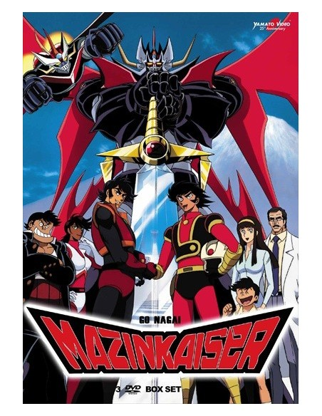 YAMATO VIDEO DVD ANIME MAZINKAISER BOX SET 3 DVD SERIE COMPLETA