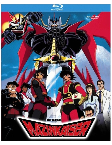 YAMATO VIDEO BLU RAY ANIME MAZINKAISER BOX SET 2 DISCHI SERIE COMPLETA