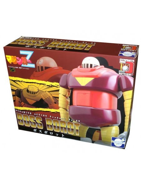 DYNAMITE ACTION 39 MAZINGER MAZINGA GREAT Z BOSS ROBOT ACTION FIGURE