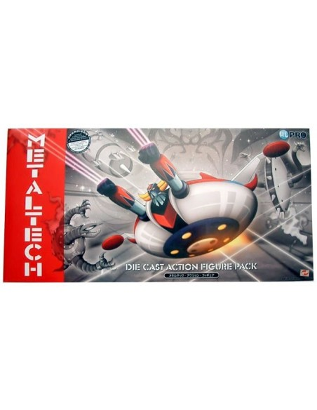 METALTECH 01 DLX + DISCO GOLDRAKE DIECAST 16CM