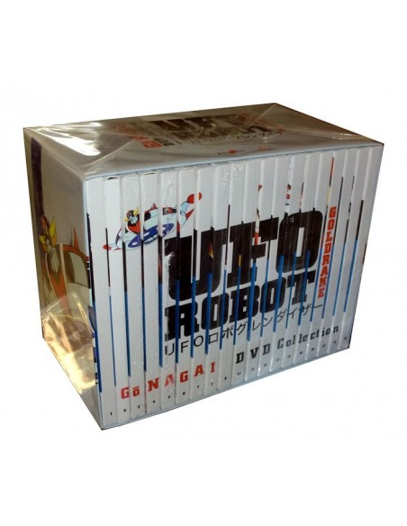 YAMATO DVD GO NAGAI UFO ROBOT GOLDRAKE 19 DVD SERIE COMPLETA NEW EDITION