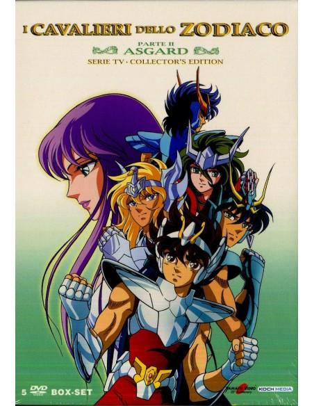 YAMATO DVD ANIME CAVALIERI DELLO ZODIACO 5 DVD SERIE COMPLETA ASGARD