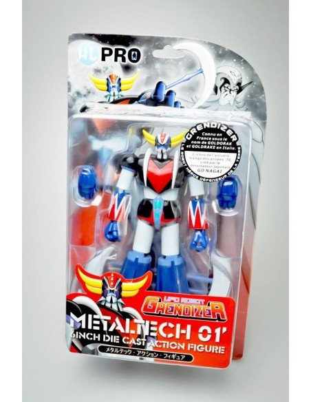 HL PRO METALTECH 01 GOLDRAKE MANGA VERSION 16CM