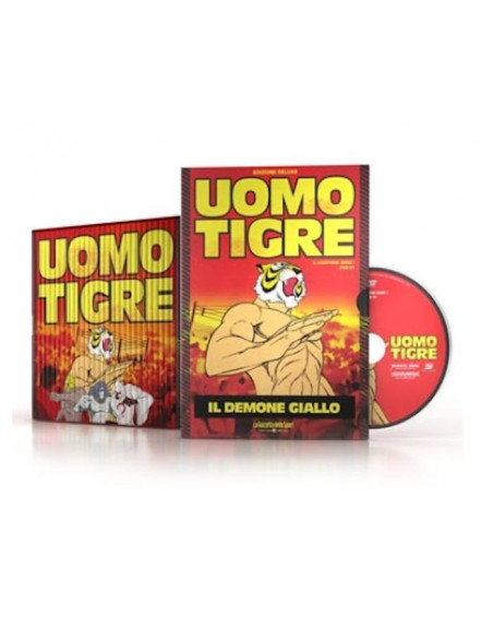 YAMATO DVD ANIME L'UOMO TIGRE 29 DVD SERIE COMPLETA
