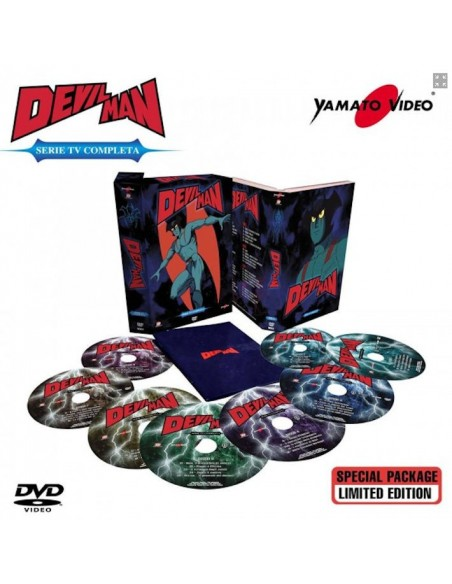 YAMATO VIDEO DVD ANIME DEVILMAN 8 DVD SERIE COMPLETA