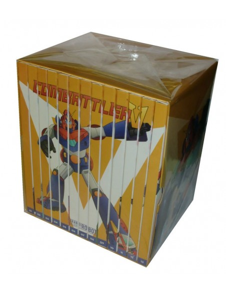 YAMATO GAZZETTA DVD I GRANDI ROBOT COMBATTLER V 13 DVD SERIE COMPLETA