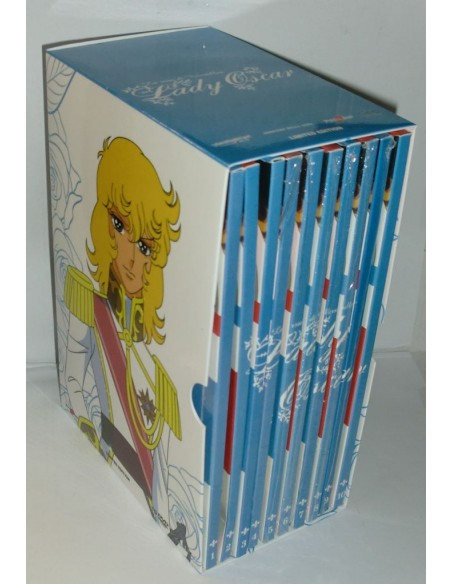 YAMATO VIDEO GAZZETTA DVD ANIME  LADY OSCAR 10 DVD SERIE COMPLETA BOX NUOVO