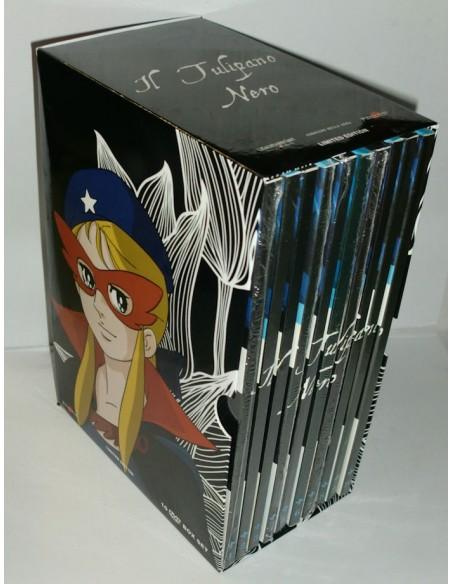 YAMATO VIDEO GAZZETTA DVD ANIME  IL TULIPANO NERO 10 DVD SERIE COMPLETA BOX NUOVO
