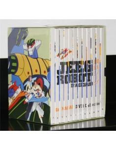 YAMATO DVD GO NAGAI JEEG ROBOT D'ACCIAIO 12 DVD SERIE COMPLETA