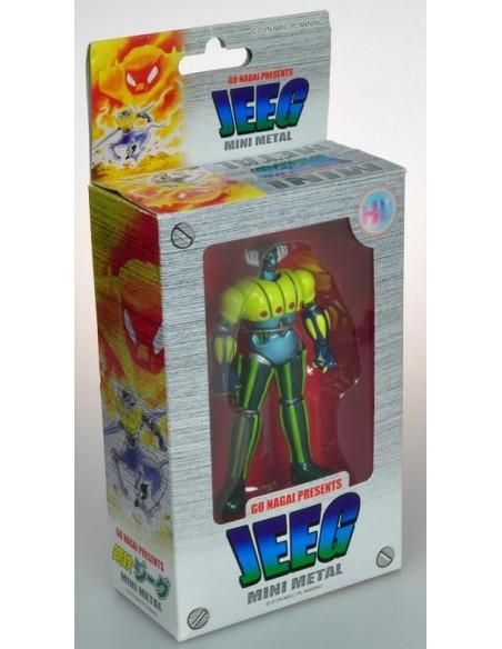 JEEG ROBOT D'ACCIAIO MINI METAL 12CM