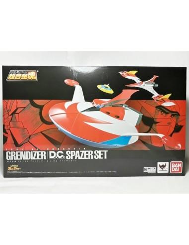BANDAI SOUL OF CHOGOKIN GX 76X UFO ROBOT GRENDIZER SPAZER SET DYNAMIC CLASSIC DIE CAST