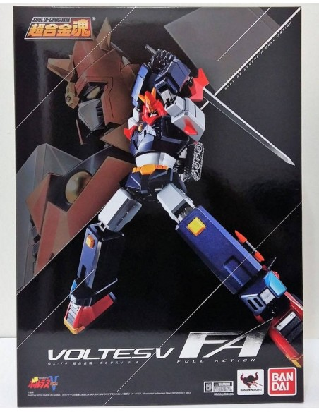BANDAI SOUL OF CHOGOKIN FULL ACTION GX 79 VOLTES V  DIE CAST VULTUS FIGURE NEW